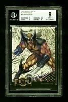 1995 Fleer Marvel Metal Blaster Gold Blaster Wolverine #18 BGS 9 Mint POP 2
