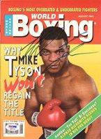 Mike Tyson Autographed Magazine Vintage PSA/DNA #Q65743
