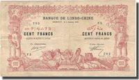 100 Francs Französisch-somaliland Banknote, 1920-01-02, Km:5