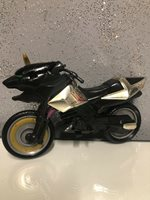 Bandai Mighty Morphine Power Ranger Motorcycle 1 Horn Missing