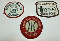 Lot of 3 Vintage sew on patches.