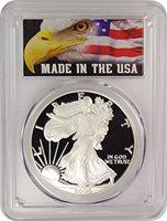 2005 W Silver Eagle $1 PR-70 PCGS