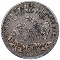 1818 Bust Quarter B-2 PCGS XF-40 CAC