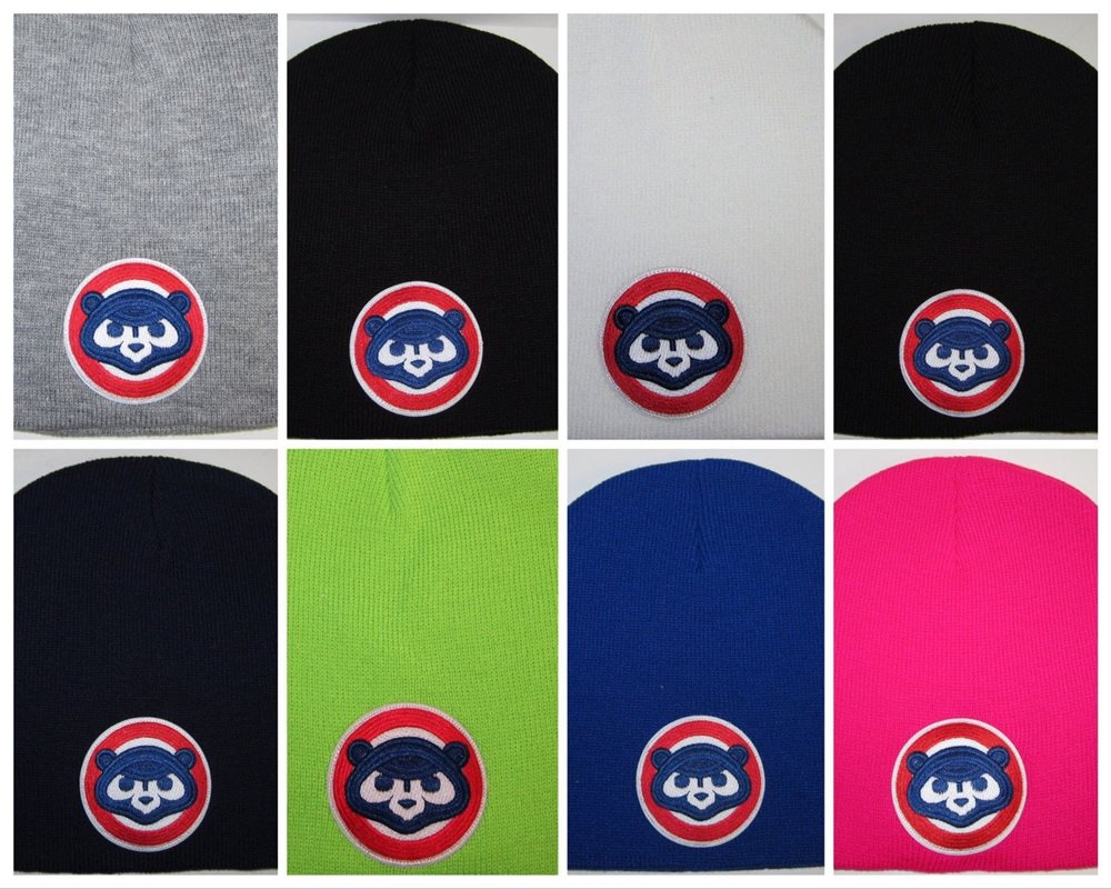 24de12bfb30aa Chicago Cubs Beanie ~SKULL CAP ~HAT ~VINTAGE MLB PATCH LOGO ~8. Click To  Enlarge