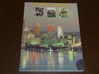1991 PITTSBURGH PITT COLLEGE FOOTBALL MEDIA GUIDE EX-MINT BOX 22