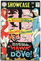 showcase #75 1968 dc first hawk and dove steve ditko FN