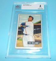 Ted Williams 1951 Bowman Card Beckett BVG Certified VG-EX 4 Boston Red Sox HOF