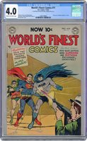 World's Finest #71 CGC 4.0 1954 1260149005 1st joint app. of Superman and Batman