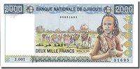 2000 Francs Dschibuti Banknote