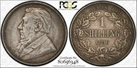 South Africa 1896 1 Schilling KM#5 PCGS XF40
