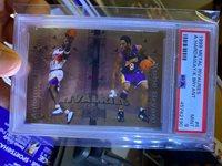 1999-00 Skybox Metal Rivalries Kobe Bryant Lakers Anfernee Penny Hardaway #R6