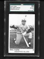 1975 TCMA Memphis #21 Gary Carter SGC 80 Near Mint XRC