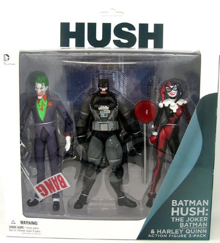 Batman Hush 6 Inch Action Figure Box Set Series Hush