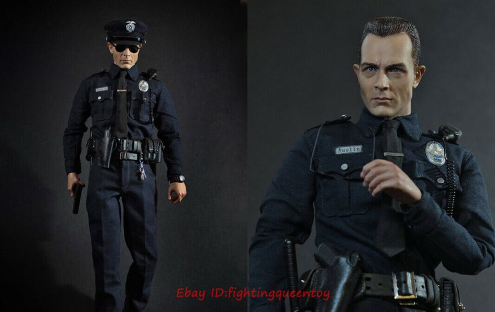 DID MA1009 1//6 Scale LAPD Patrol Police Austin Action Figure Toy