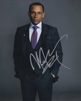 Hill Harper in-person autographed photo Great color photo from The Good Doctor autographed by this American actor and author known for his roles in He Got Game, The Skulls, For Colored Girls, All Eyez on Me, City of Angels, The Handler, CSI: NY, Covert Affairs, Limitless, Homeland and The Good Doctor.