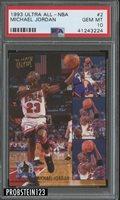 1993 Ultra All-NBA #2 Michael Jordan PSA 10