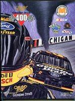 Michigan International Speedway NASCAR Race Program