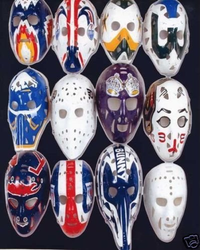 Vintage Hockey Goalie Mask Nhl 8x10 Photo 2