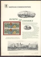 1577-78 10c Banking & Commerce USPS Cat. # 57 Commemorative Pane[cp057]