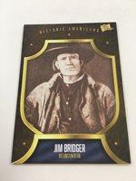 Jim Bridger The Bar Pieces of the Past Historic Americans Card LB12