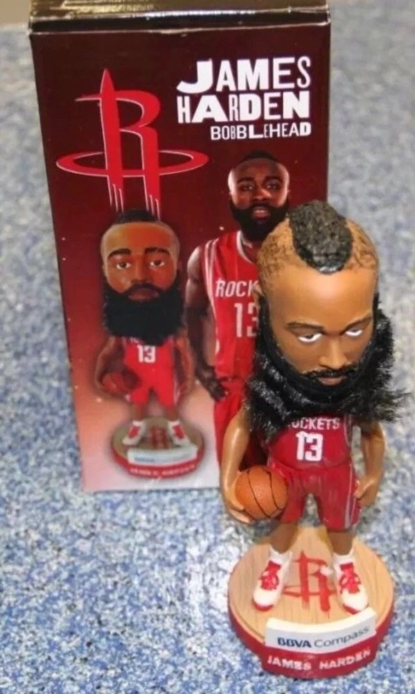premium selection be4ae 06f32 Houston Rockets SGA 2013 MVP James Harden bobblehead
