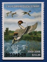 U.S. (CA35) 2005 California Duck Stamp (MNH)