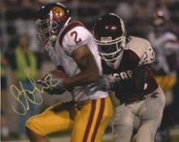 Autographed STEVE SMITH USC Trojans 8x10 Photo