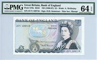 378c B343, £5 Great Britain, ND (1980-87)