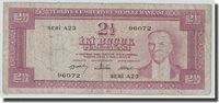 2 1/2 Lira L 1930 Türkei Banknote, 1960-02-15, Km:153a