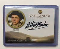 Cryptozoic OUTLANDER Season 3 ALBIE MARBER Elias Pound Autograph Card AM