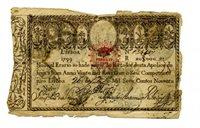 RARE ORIGINAL FIRST BANKNOTE OF PORTUGAL MONEY 1799-20 000 REIS- P31 -D.Pedro IV