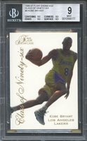 1996-97 flair showcase class of ninety-six #4 KOBE BRYANT lakers rookie BGS 9