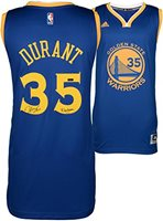 34659493dac Kevin Durant Golden State Warriors Autographed Blue Replica Jersey with Dub  Nation Inscription - Limited Edition