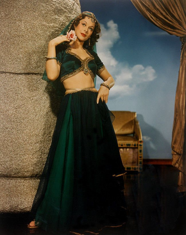 Hedy Lamarr - Samson and Delilah (1949) - 8 1/2 x 11