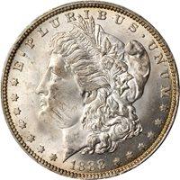 1888-O $1 Scarface MS63+ PCGS