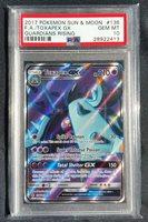 Toxapex GX Full Art NM Guardians Rising 136//145 Pokemon TCG