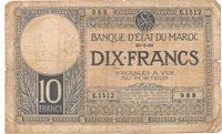 10 francs 1931 Marocco