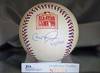 CAL RIPKEN JR JSA SIGNeD 2012 ALL STAR BASEBALL AUTOGRAPH AUTHENTIC