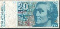 20 Franken Schweiz Banknote, 1983, Km:55e