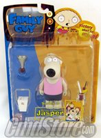 "JASPER PINK VARIANT 6"" Action Figure FAMILY GUY Series 3 Mezco Toy"
