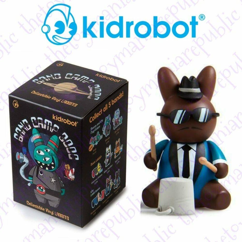 Snaps Coleman Kidrobot Band Camp 3000 Labbit Vinyl 3-Inch Mini-Figure