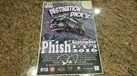 * PHISH * Anastasio, Gordon, McConnell signed 2016 Denver billboard 11x17 poster