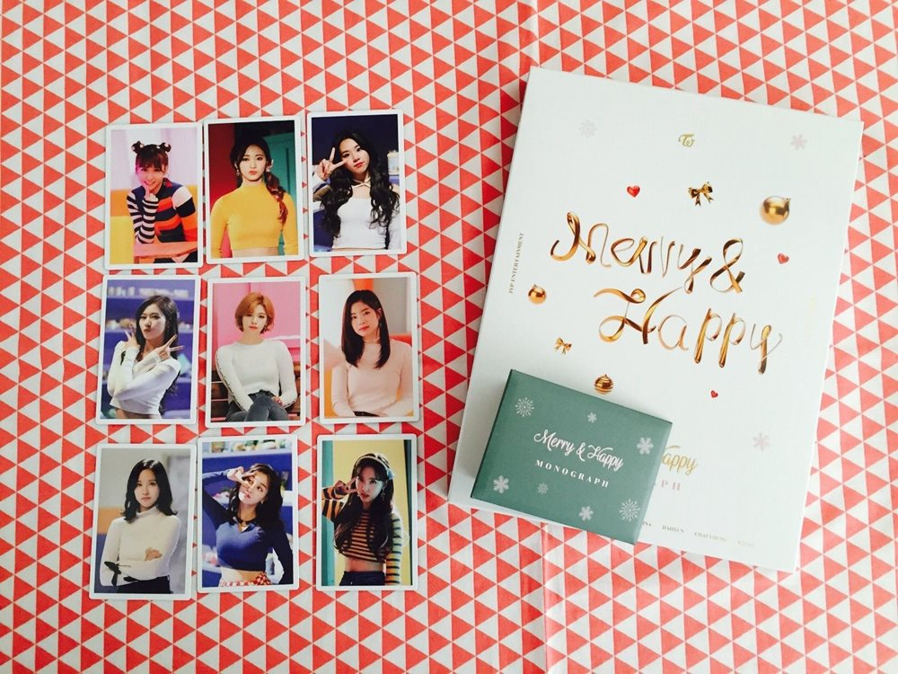 Twice Merry & Happy Monograph photobook separated item