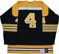 Bobby Orr Boston Bruins Signed Mitchell   Ness Jersey  adaddcb51