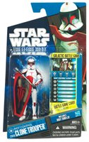 Star Wars Clone Wars 3.75 Inch Action Figure - Riot Control Clone Trooper CW49
