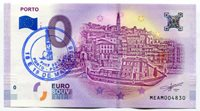 PORTO Portugal 0 Euro Souvenir Note 2018 Series 1 City of Porto with PINF stamp