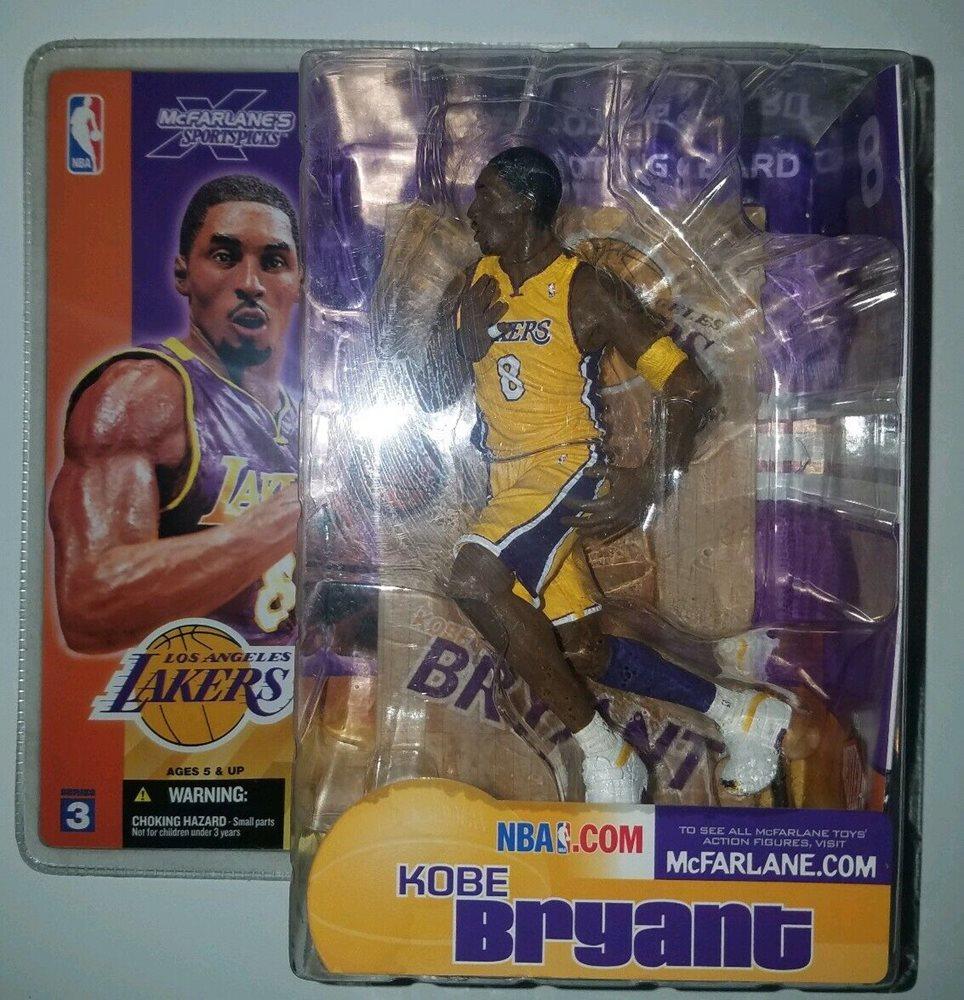 McFarlane NBA Series 3 Kobe Bryant Los Angeles Lakers g