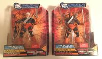 DC Universe Deathstroke & Unmasked Variant = 2ea New in Box Toys