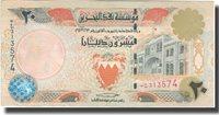 20 Dinars L 1973 Bahrain Banknote, Km:23