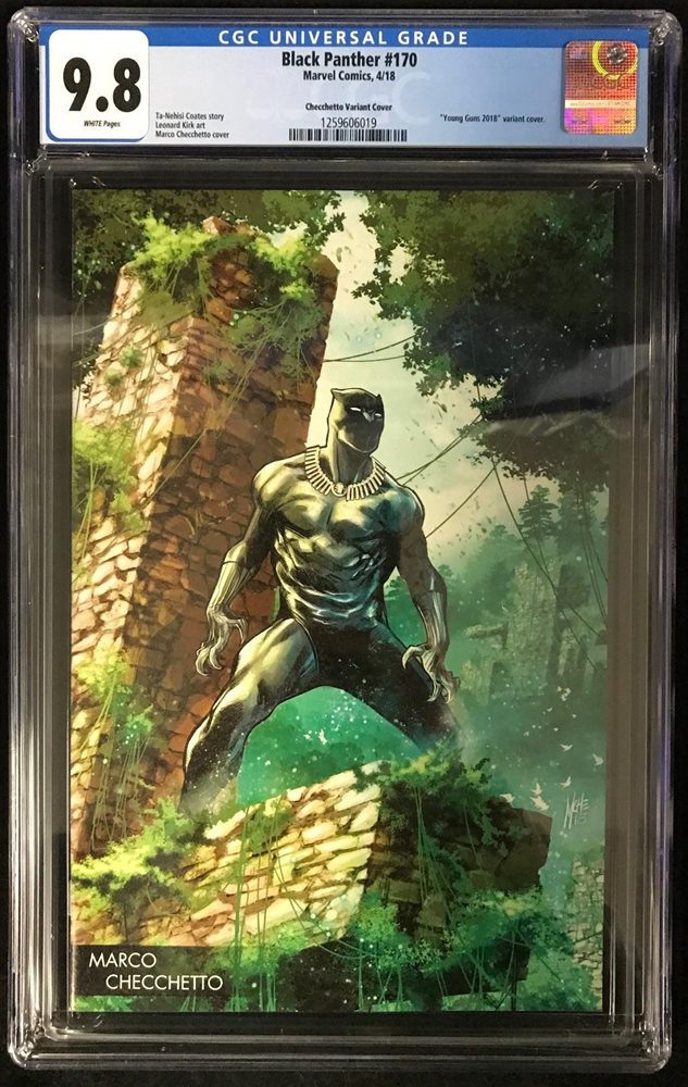 Black Panther #170 Young Guns Marco Checchetto Variant Cover NM